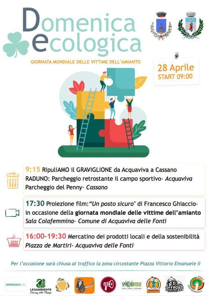 """Domeniche Ecologiche: """"RipuliAMO il Graviglione"""""""