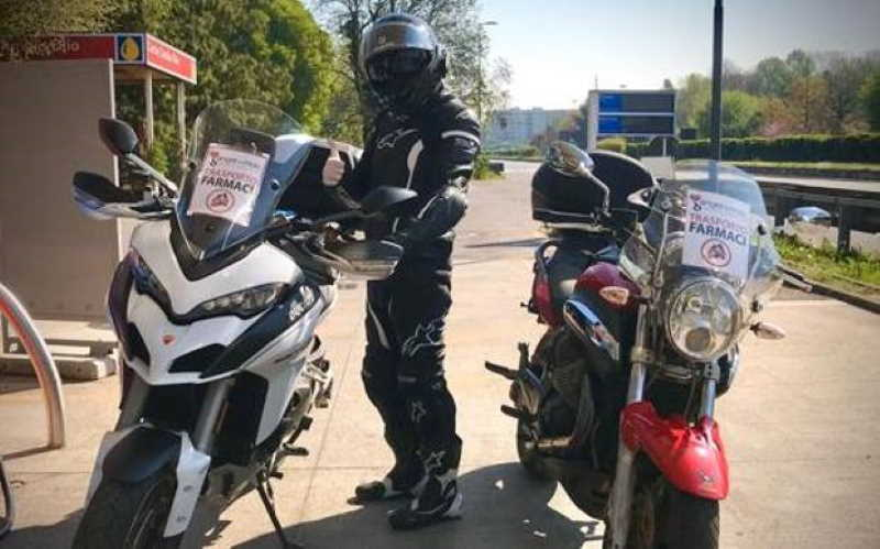 Angeli in Moto per i malati di Sclerosi Multipla